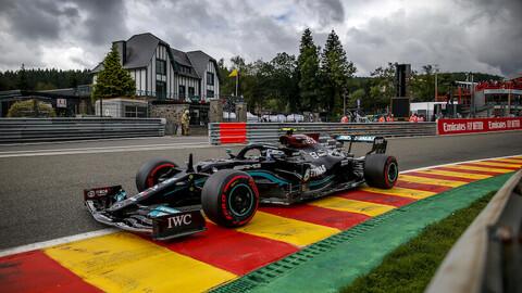 """Potass, Mercedes """"unloads"""" for a run-up Belgian GP"""