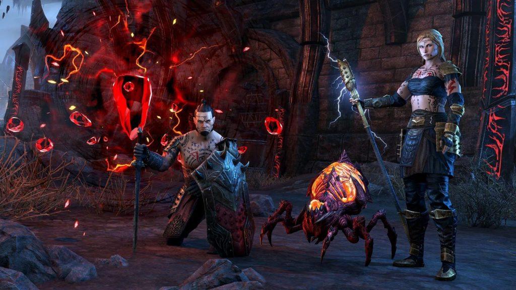 The Elder Scrolls Online Waking Flame DLC Launches With Two New Dungeons - The Elder Scrolls Online: Blackwood