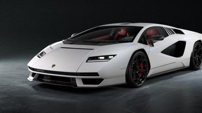 The Lamborghini Countach returns as a short series
