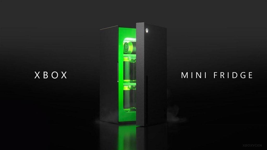 The Xbox Series X Fridge will be released at the end of 2021, not only in the United States but also on the Xbox One