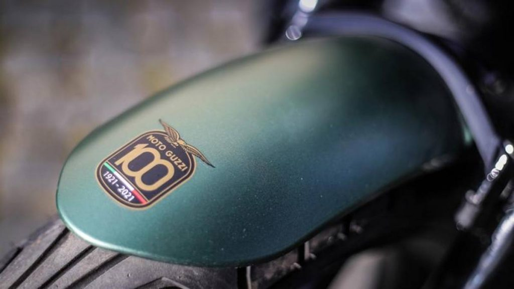 The new crossover model of the Moto Gucci V100 is about to be unveiled, with info and preview photos