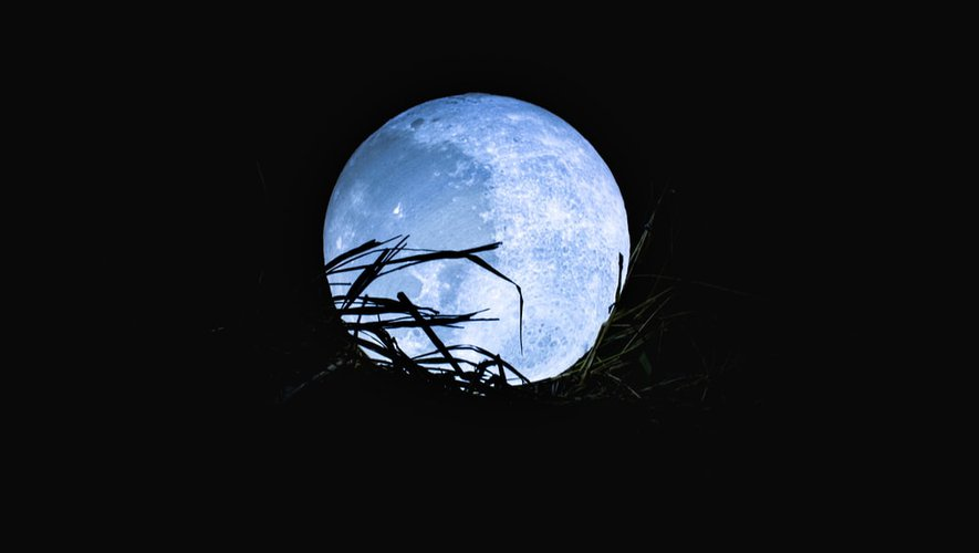 What is the blue moon, a significant astronomical event that will take place this Sunday?