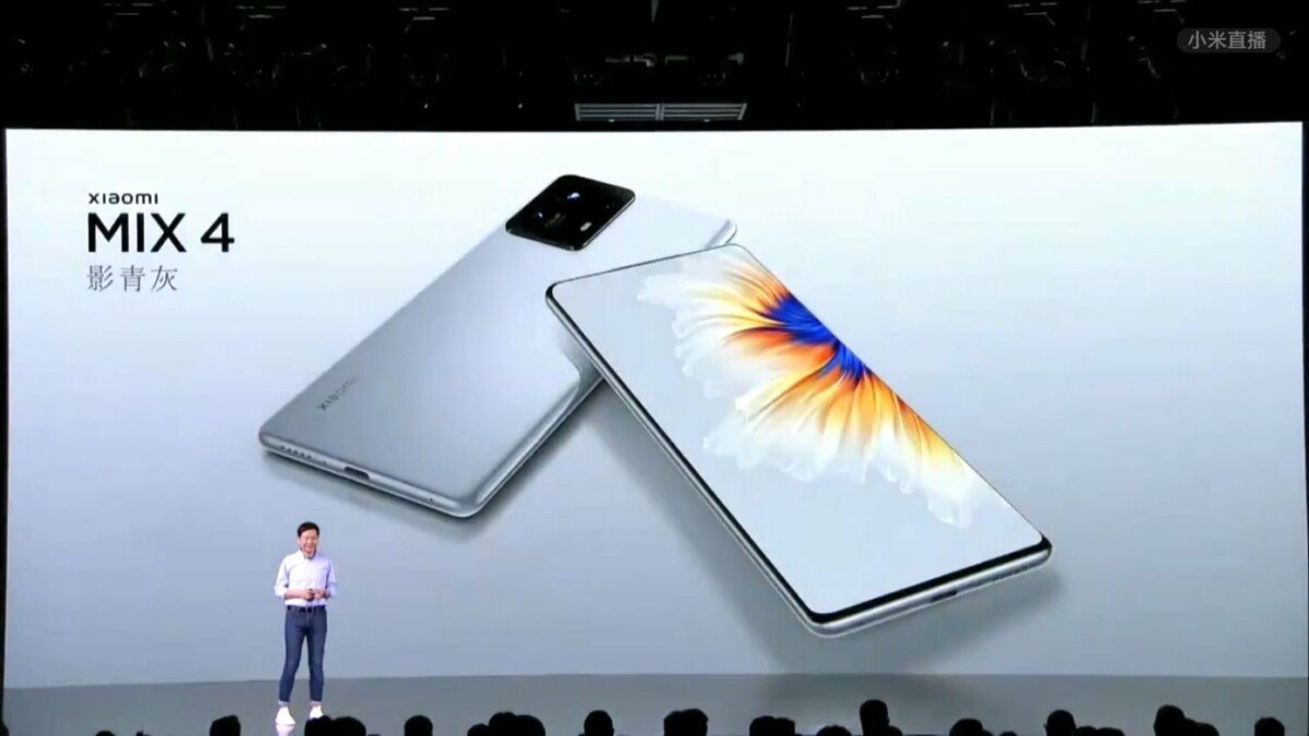 Presentation of Xiaomi Mix4