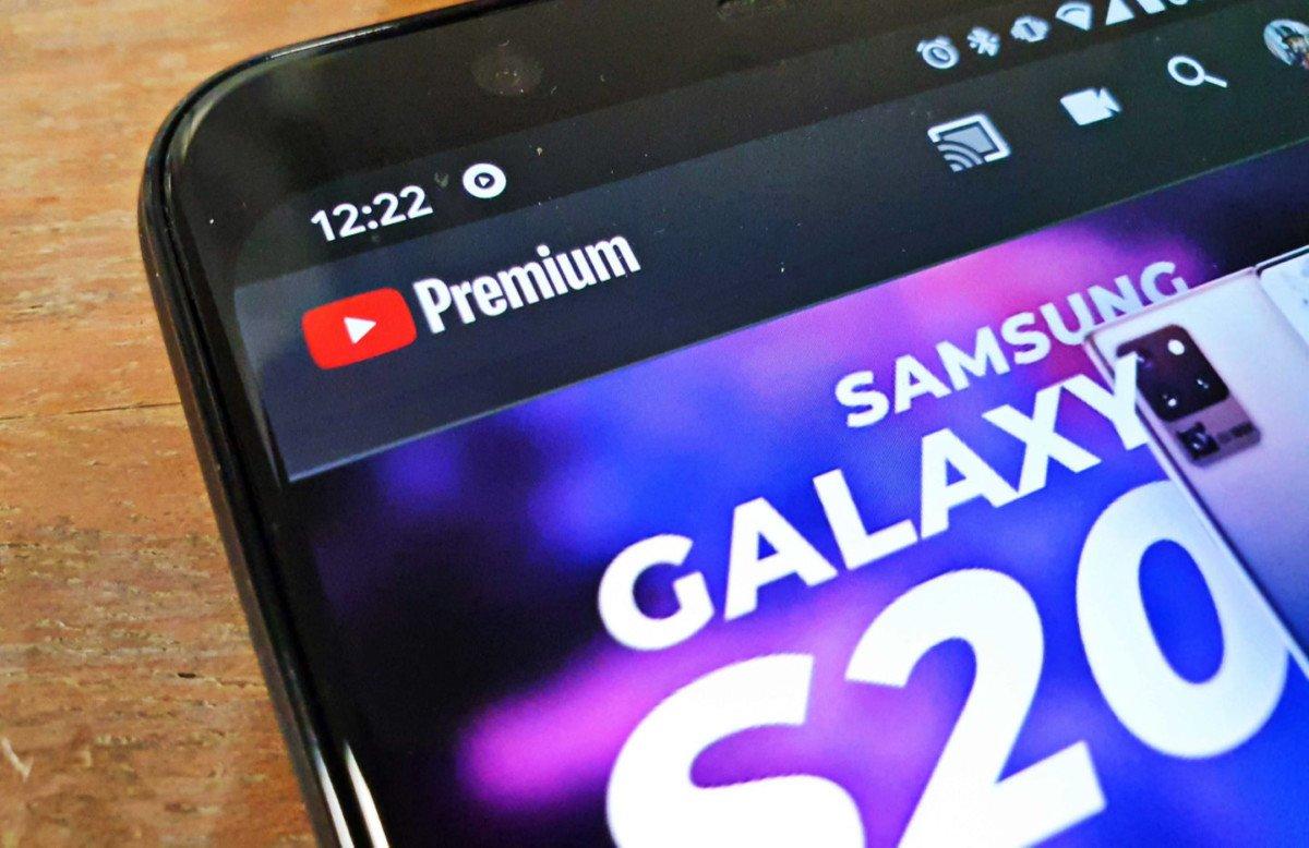 Logo YouTube Premium