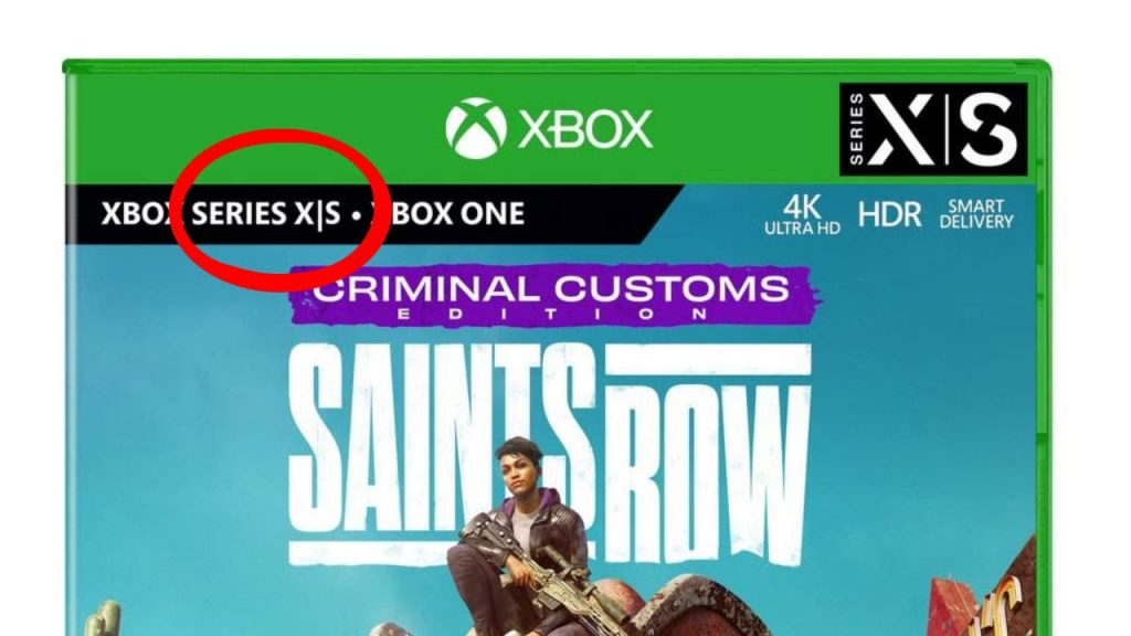 Xbox Series S with Disk Player?  Saints Row Cover Attracts Us Xbox One