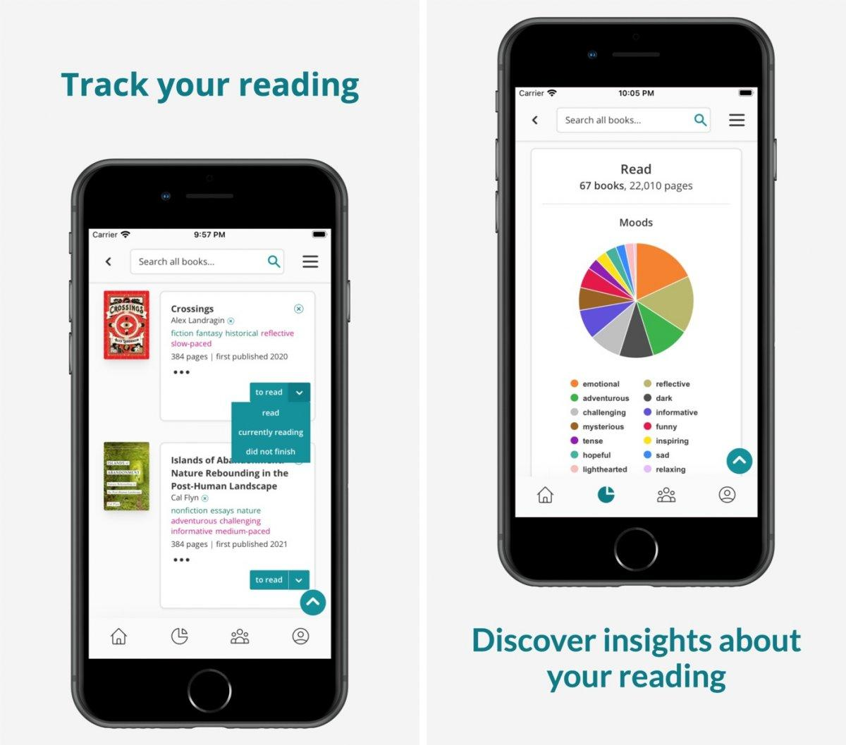 Story Graph Reading Tracker Capture App ipa iphone
