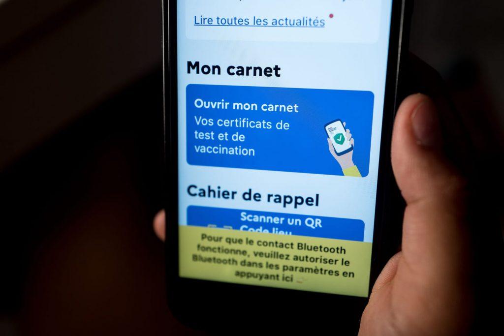 TousAntiCovid Carnet: QR code, download, widget