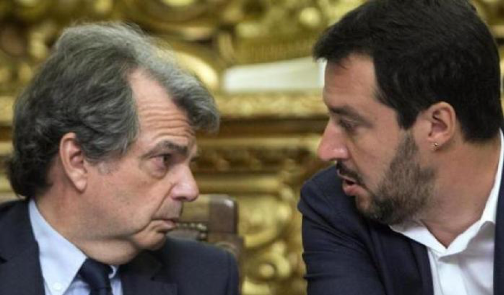 """Brunetta downloads Salvini: """"His position in Green Boss is irrational, he only does campaigning"""""""