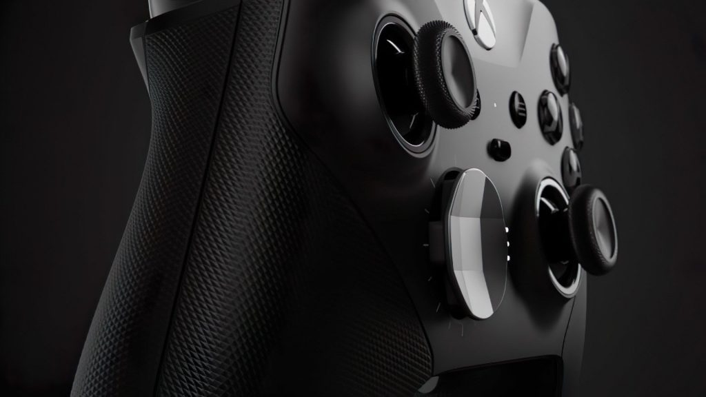 Discovered thanks to Steam: The Xbox Elite controller has a hidden function