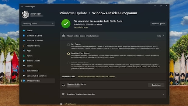 You can get Windows 11 in advance on the beta channel of the Windows Insider program.