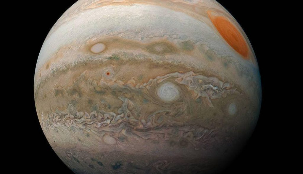 Jupiter was attacked by an unidentified object