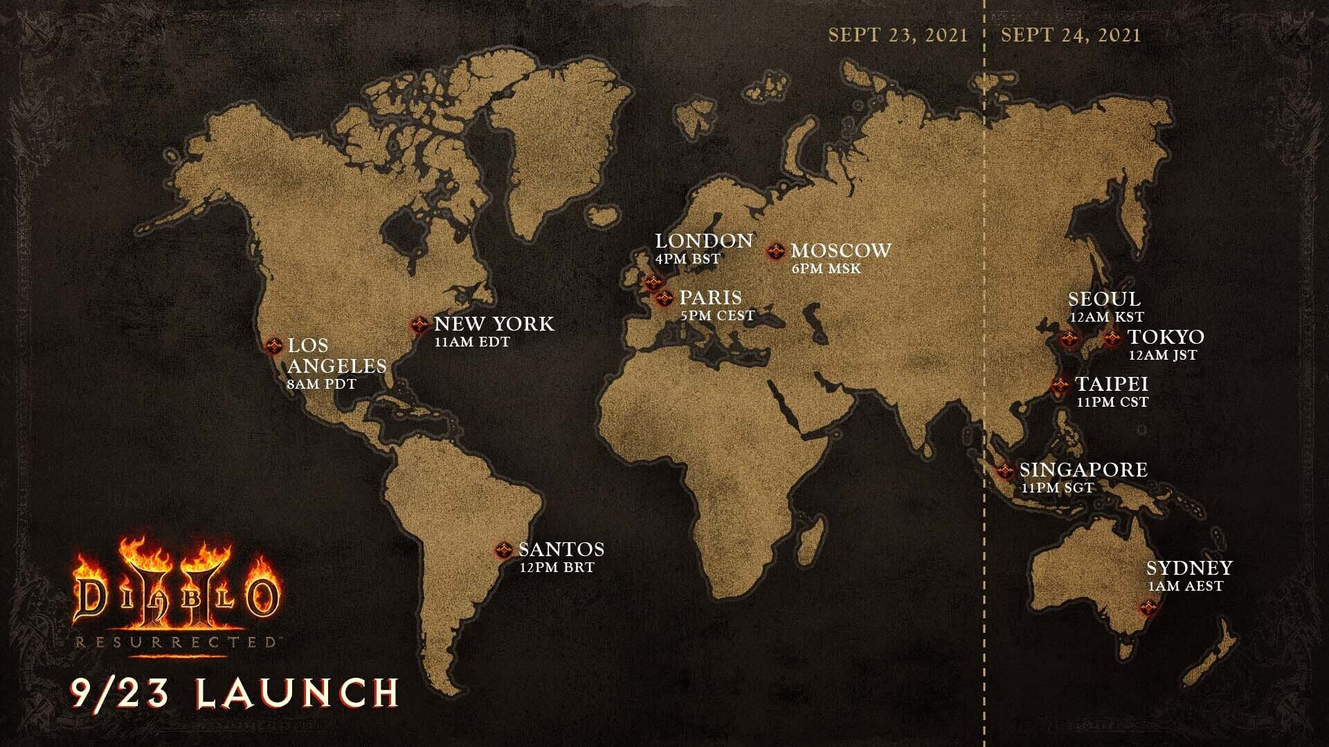 Diablo II: Resurrected - Launched