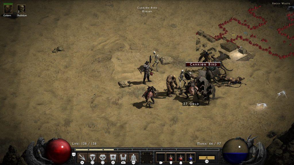 Diablo 2 Totenbeschwörer Review Screenshot PS5