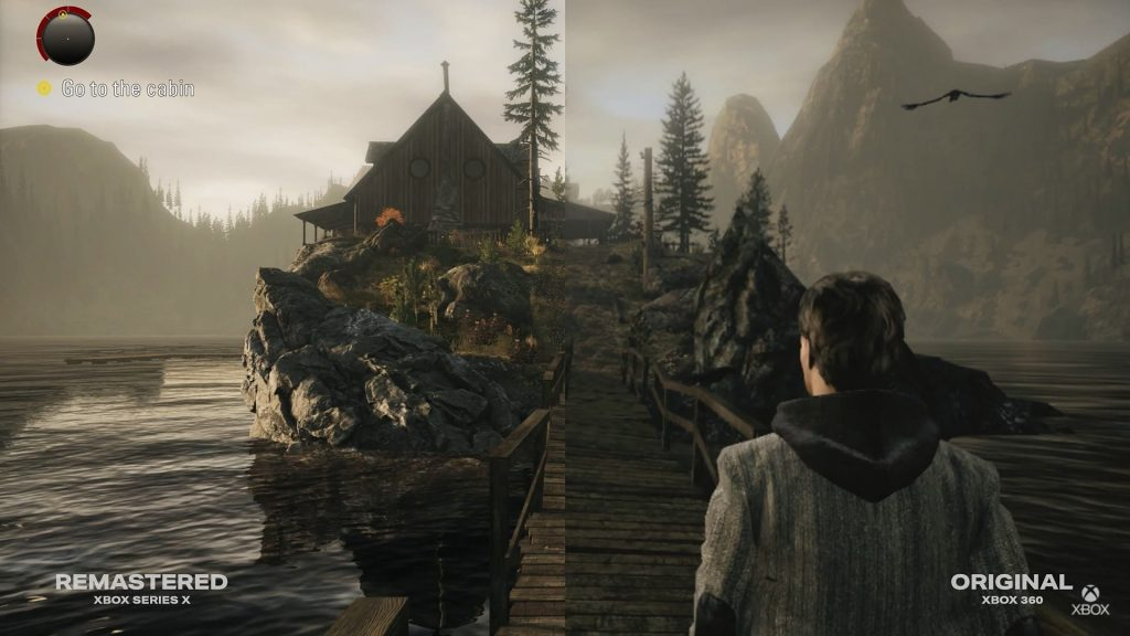 Alan Wake Remaster: Video Comparison Tes Versions Xbox Series X and Xbox 360    Xbox One