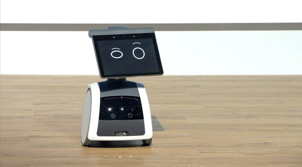 "Amazon introduces ""Astro"", Alexa's ""mind"" craftsman robot"