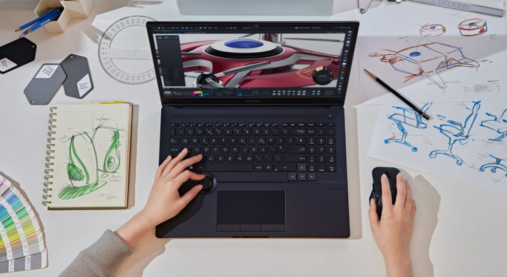 Asus brings new Proart Studio and Vivobook notebooks with AMD or Intel and Dial