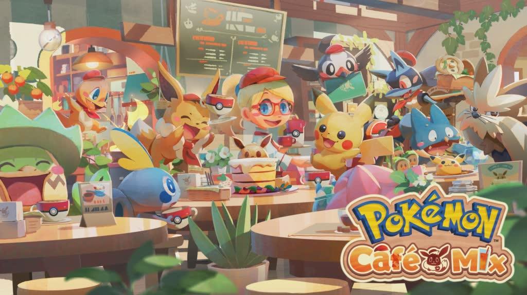 Big Pokemon Cafe (Re) Mixture Update Nintendo Link