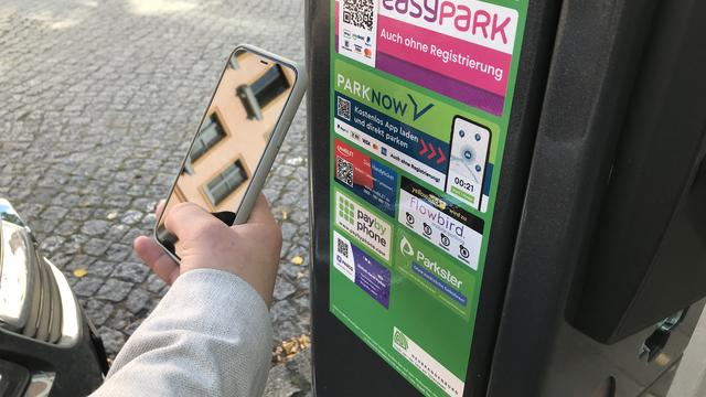 Machines: Parking tickets in New Brandenburg can now be paid using the app