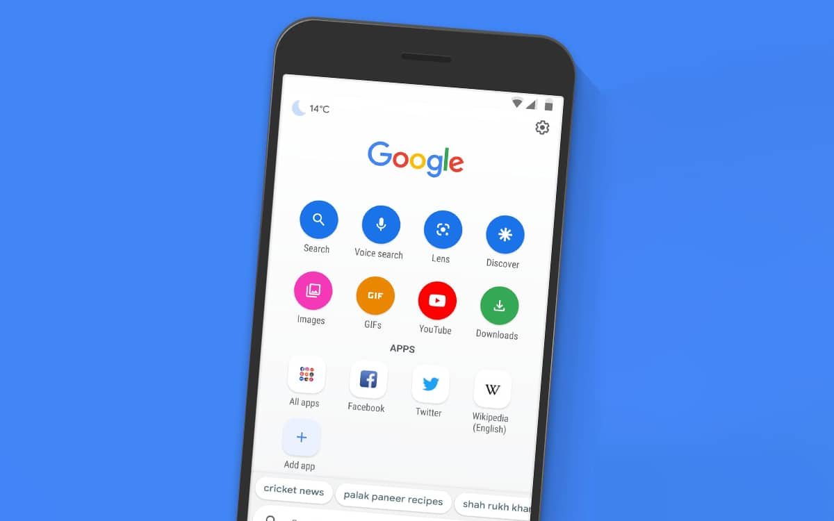 google app android error