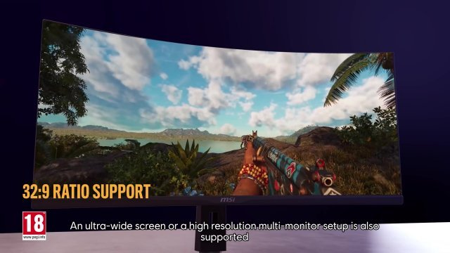 PC version in technical trailer with Ray tracing and FSR