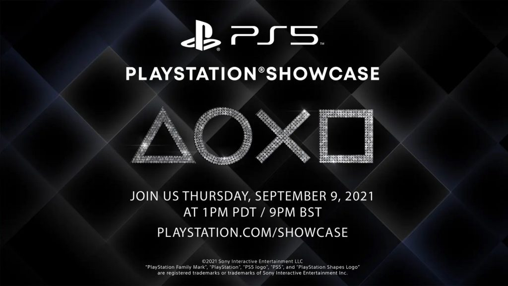 PlayStation Showcase on September 9th, it's official!  New PS5 games but not PSVR2