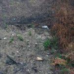 Sewer drains near buildings in Kodanzaro, Pistoia