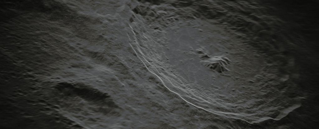 This crazy new photo of Tyco's abyss on the moon is so detailed that it doesn't seem real