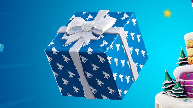 Throwing Birthday Gifts at Fortnight, Season 8 Challenge - Breakflip