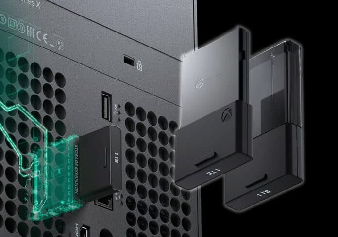 Cheap SSD hard drives for the Xbox Series X / S