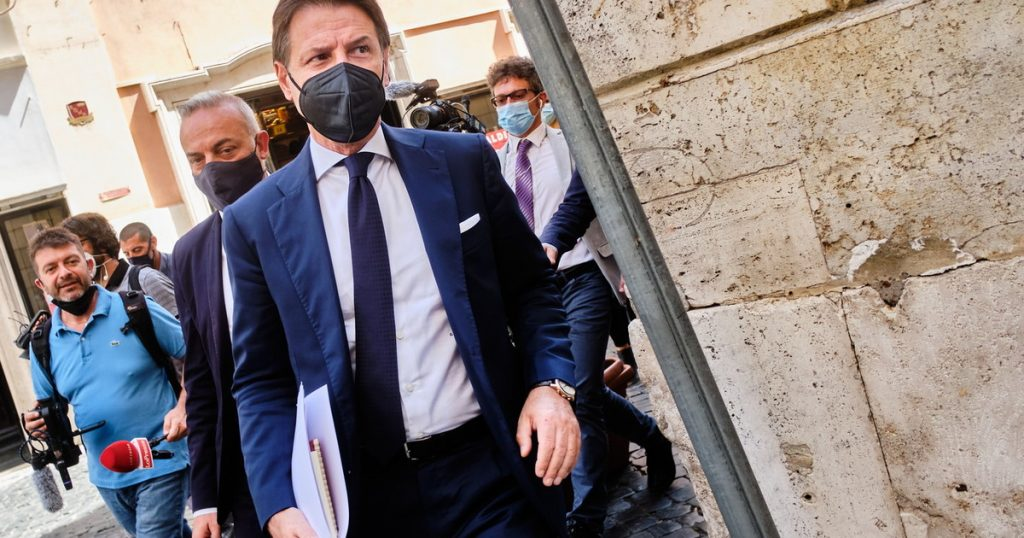 """With you?  """"A joke, are we serious?"""".  Democrats drop Giuseppe after a break on security orders - in tempo"""