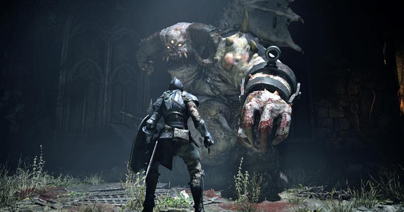 Szene aus dem PlayStation 5-Launchtitel Demon