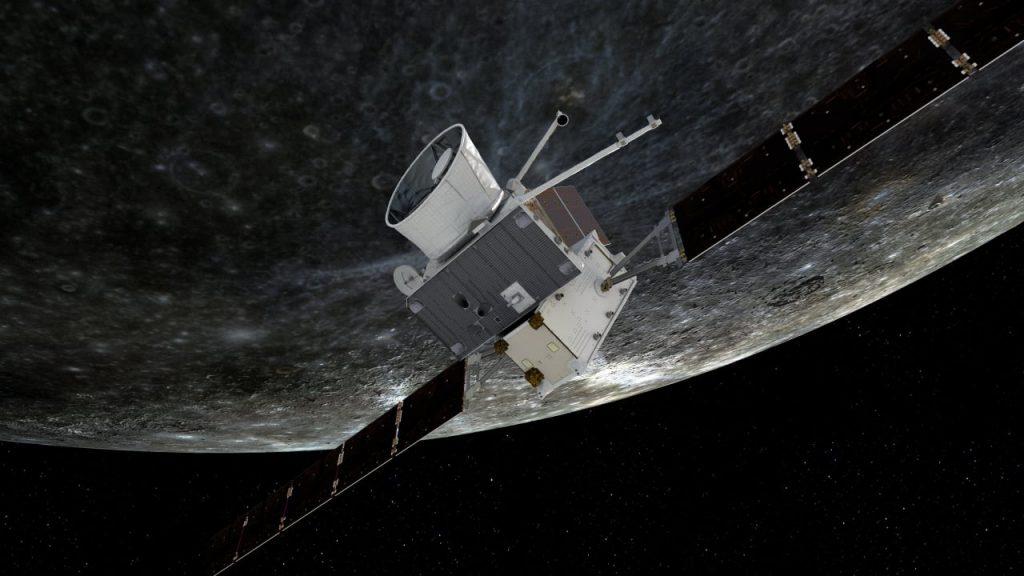 ISA European space exploration in space - 1st Mercury spacecraft passes - Frankfurt