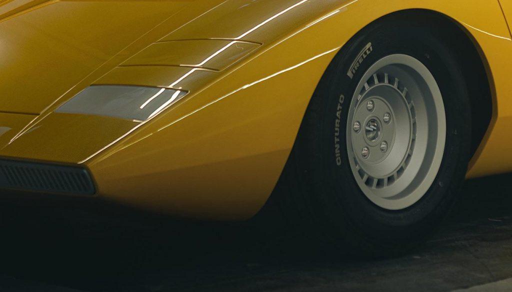 Lamborghini Countach LP500, the return of the style icon