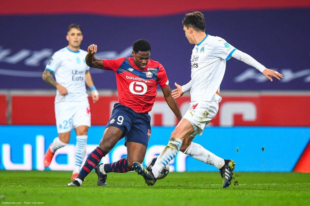 Jonathan David, Lille - Olympique de Marseille
