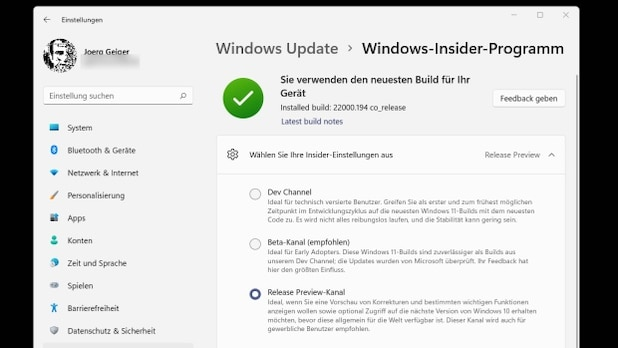 In the Windows Insider program release preview channel, you can get Windows 11 in advance.