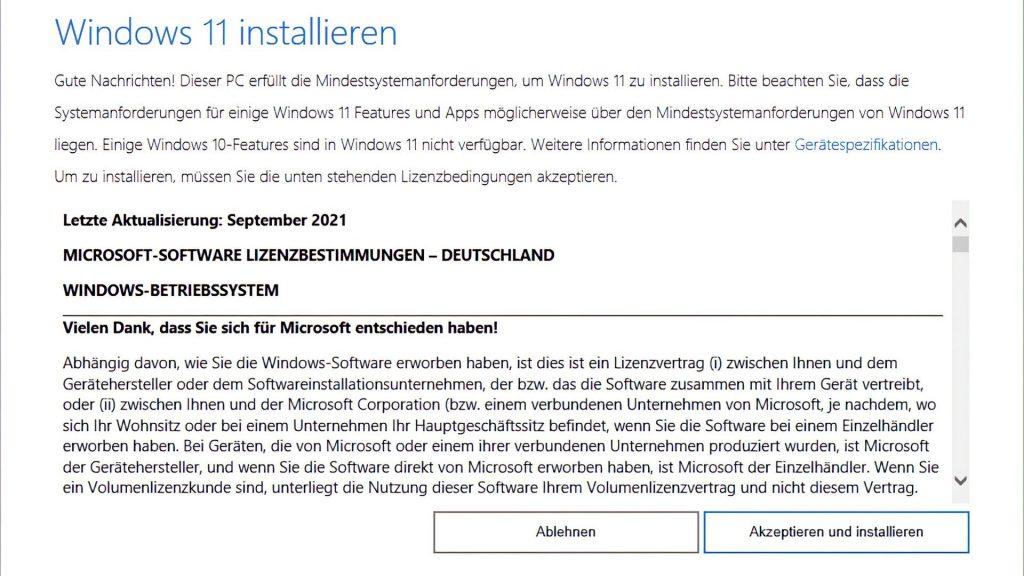 Windows 11 Installation Wizard - 21H2 Instant Update