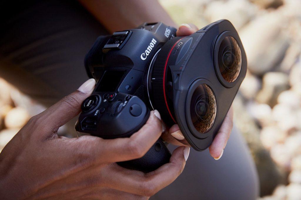 Canon objectif VR fisheye