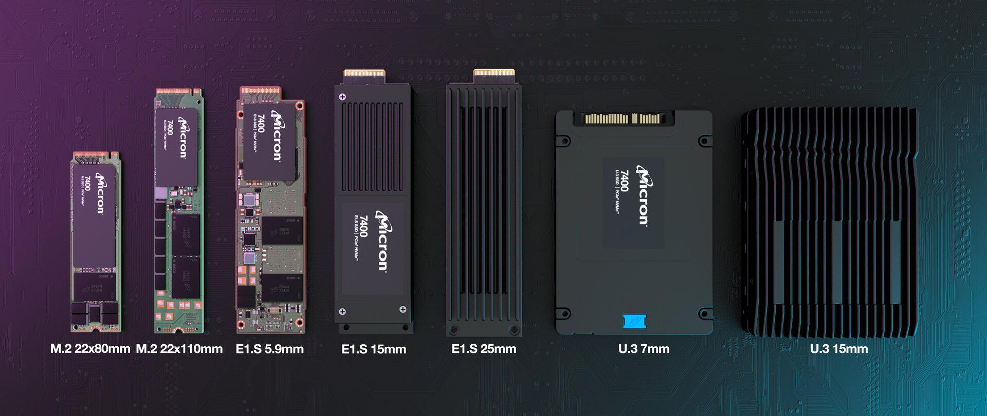 SSD-Family Micron 7400