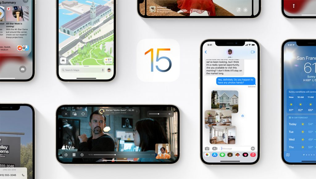 iOS 15: The first update with fixes has arrived