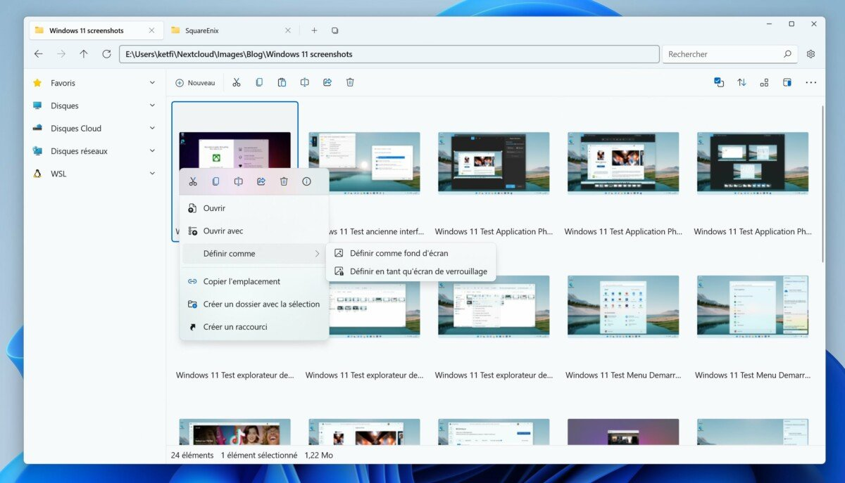 Files application The file must be Explorer for Windows 11