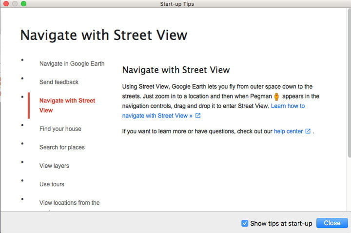 After getting Google Earth Pro for free, check out the first tips.