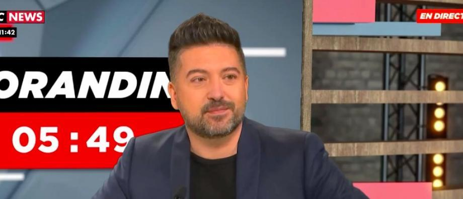 """""""Dance with the Stars"""" lawyer Chris Marks reveals his fight against disease on """"Morandini Live"""": """"It's a lifelong pollution"""" - Video"""