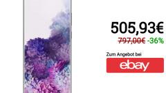 Samsung Galaxy S20 + |  128 gigabytes of storage on eBay