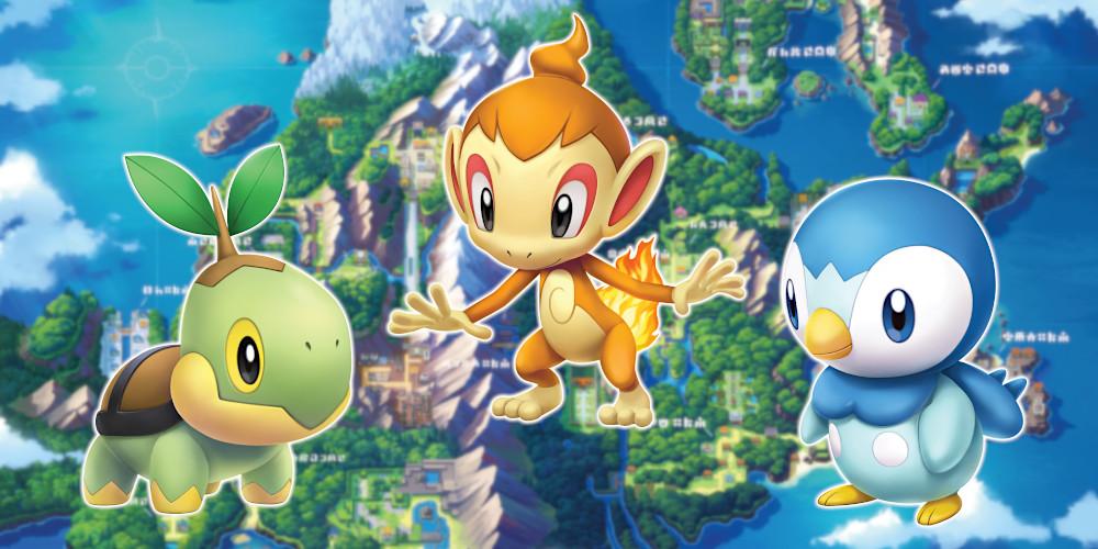 Pokémon Strahlender Diamant und Leuchtende Perle - Starter