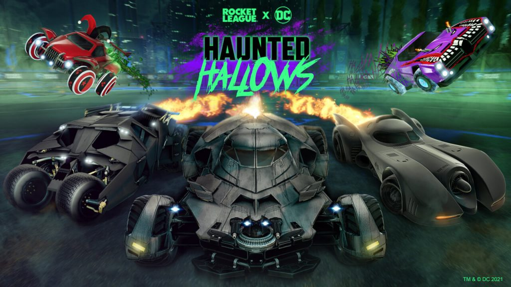 Batman returns to the ghost halos in the Rocket League on October 14 Nintendo Connect