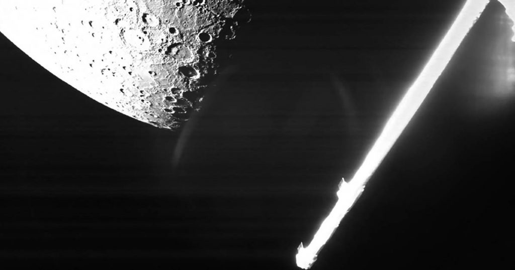 """""""BepiColombo"""" sends pictures of large craters on Wednesday"""