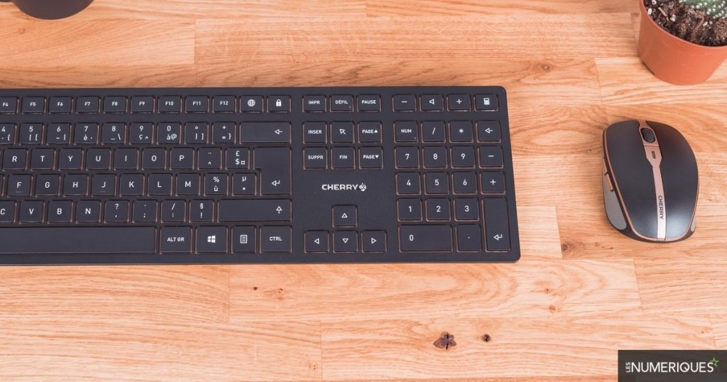 Cherry DW 9100 Slim Keyboard / Mouse Pack Test: Wireless Office Automation with Class