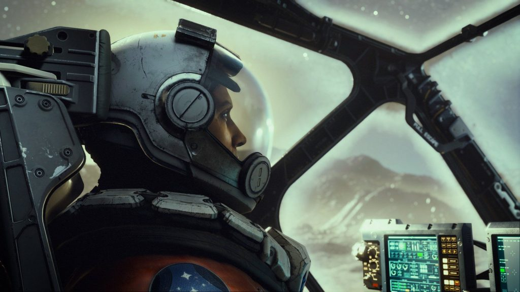 Many pictures of Bethesda's space game in the new leak