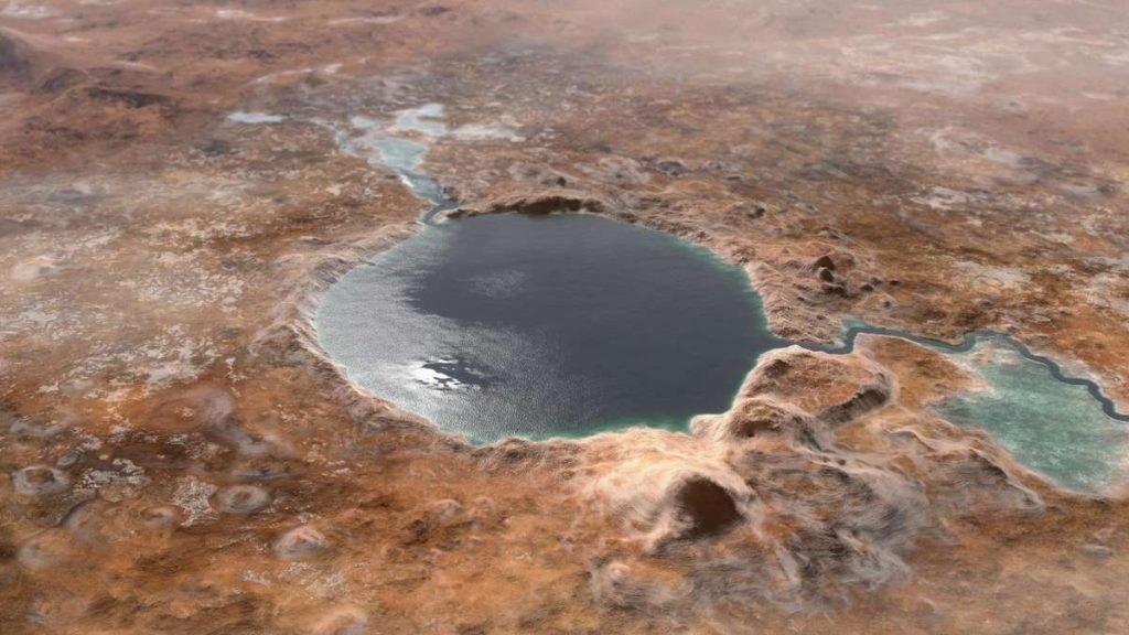 """NASA rover discovers lake on Mars - """"this is the main observation"""""""