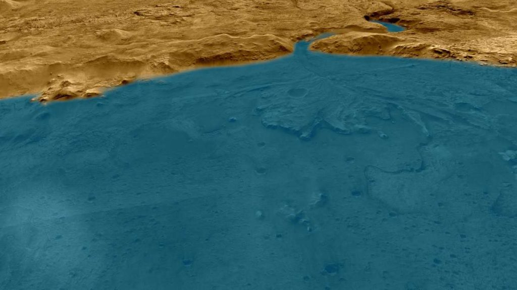 """NASA rover discovers ocean on Mars - """"This is the main observation"""""""